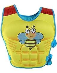Highdas Veste de natation Apprenez à nager flottabilité gilets de sauvetage pour les enfants 2-8 ans
