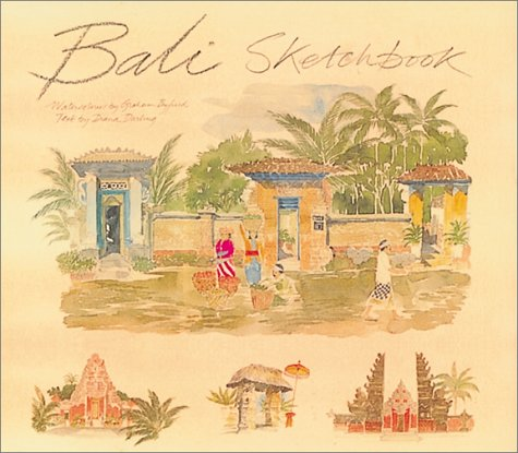 Bali Sketchbook por Graham Byfield