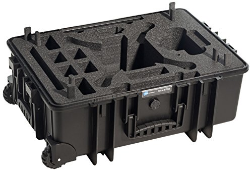 Individueller DJI Phantom 3 Schaumstoff, passend für B&W Outdoor Cases Typ 6700 (ohne Koffer)