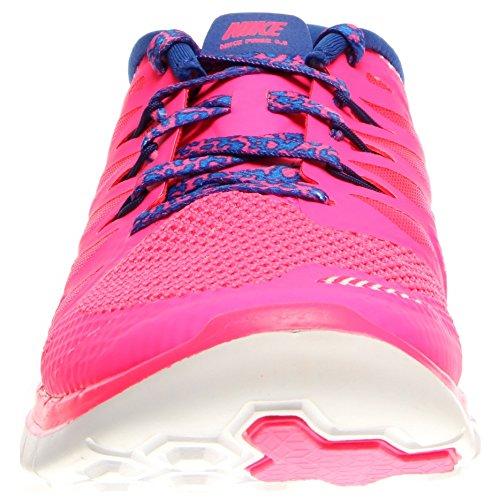 Nike Mädchen Free 5.0 Laufschuhe Rosa (Dunkelrosa)