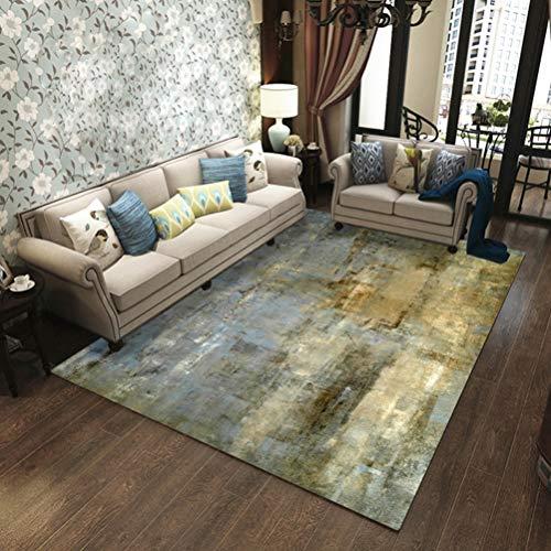 Coral Moderner Teppich (LUYIASI- Teppich, 10mm nordischer moderner Teppich-Luxus für Wohnzimmer-Kaffeetisch-Matten-Schlafzimmer-Nachttisch-Decke voller Raum-Steigungstinte Non-slip mat ( Farbe : C , größe : 140cmx200cm ))