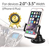 Best Cell Phone Holder, Avantree Multi - Angle Car Phone Mount, Easy Swivel Adjustment, Windshield Cradle For Smartphone iPhone 6 plus 5 5s etc.-852A