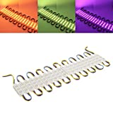20PCS SMD5050 RGB 60 LED Module Strip Light Waterproof Bar Lamp For Signage Store Front Windows DC12V