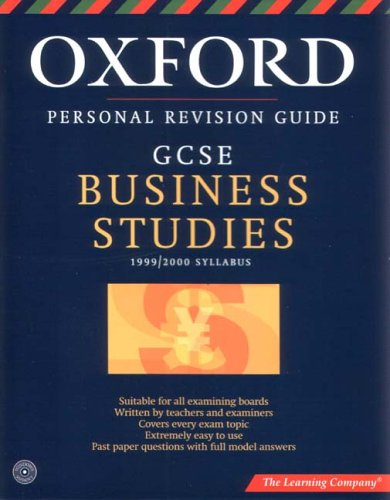 Oxford Revision Guide: GCSE Business Studies Test