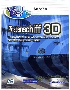 Piratenschiff 3D