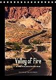 Valley of Fire / AT-Version (Tischkalender immerwährend DIN A5 hoch)