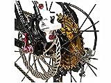 Fahrrad Scheibenbremse Bengal Helix 7B - Hydraulik Bremse, Bremsscheibe, Bremsbeläge weiß.