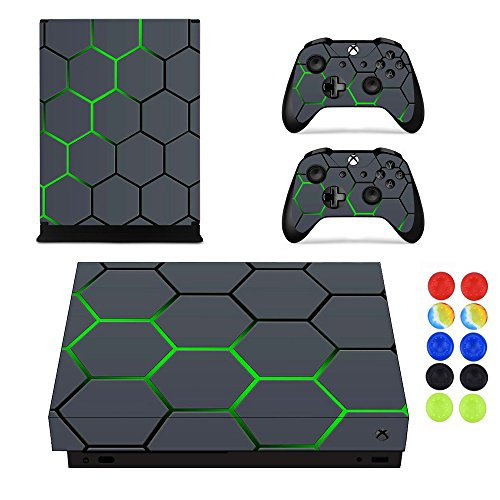 Morbuy Xbox One X Pegatina Decals Skin Adhesivo Vinilo