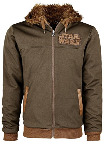 Price comparison product image Star Wars Chewbacca - Reversible Hoodie Hooded zip multicolour XXL