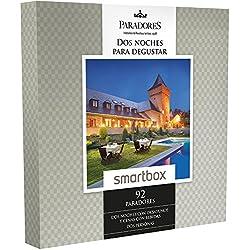 SMARTBOX - Caja Regalo -DOS NOCHES PARA DEGUSTAR - 92 Paradores excepcionales y únicos en España como castillos, palacios o conventos