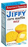 Jiffy Corn Muffin Mix 240g (8.5oz) (Pack of 3) - American Import
