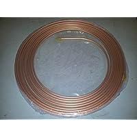 """Tubo de Freno de cobre (3/16""""suave, 25FT, 22g"""