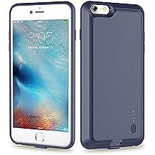 Roop Ultra dünne Schutzhülle mit eingebautem leistungsstarkem Akku für iPhone 6/6S,2000mAh zum Aufladen Ihres Handys