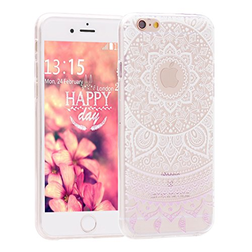 iPhone 6s,per Apple iPhone 6 Custodia Slim,Asnlove Custodia Cover Case in TPU Gel Silicone Transparente Sarto Personale Protecttive Back Shell Cellulare Accessori di Protettiva Cassa Caso in Premio Po Color-5