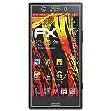 atFolix Folie für Sony Xperia XZ1 Compact Displayschutzfolie - 3 x FX-Antireflex-HD hochauflösende entspiegelnde Schutzfolie