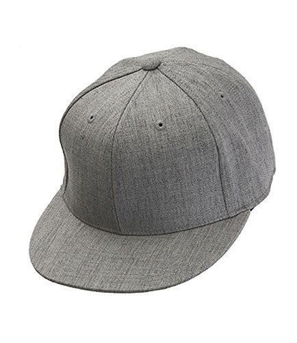 Flexfit Kappe 210 Premium Fitted Cap grey heather - S/M 210 Fitted Cap
