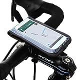 Le Satechi RideMate est un support sûr et sécurisé pour smartphone à fixer sur les vélos. Utilisez votre téléphone pendant que vous roulez. Lorsqu'il est fixé sur un guidon de vélo, l'accès à votre smartphone devient facile et sûr en raison de la fac...