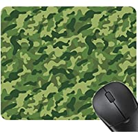 TS-nslixuan-Antiskid Game Mouse Pad Desktop Office Table Mat 3Mm Thickened 240X200 (Mm),Army Camouflage