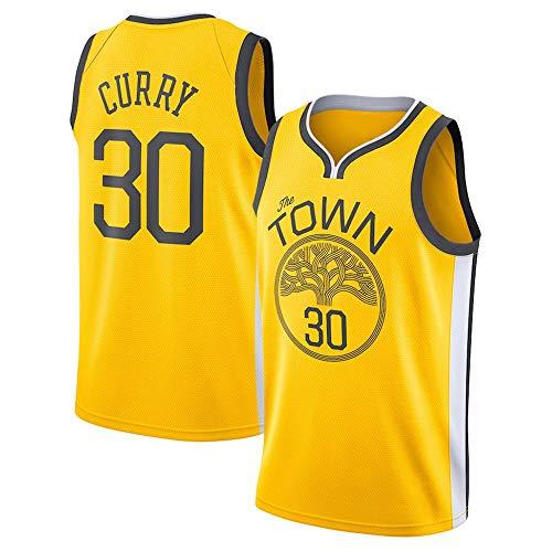NBA Warriors 30 Curry Herren-Basketball-Trikot Herren-Fans Unisex-Basketballtraining