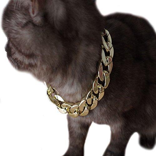 Legendog Hundekette, Haustierketten-Kragen-Mode-kühle Plastikhaustierketten-Halskette für Katzenhund