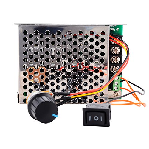 XCSOURCE Modulo DC regolatore di velocitš€ 10-50V 40A PWM di velocitš€ del motore Scheda Regolatore con CW / CCW interruttore di regolazione del potenziometro TE 535 - Modulo Di Controllo Del Motore