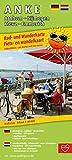 A N K E, Arnhem - Nijmegen - Kleve - Emmerich: Rad- und Wanderkarte/Fiets- en wandelkaart mit Ausflugszielen, Einkehr- & Freizeittipps, wetterfest, ... 1:50000 (Rad- und Wanderkarte / RuWK) -