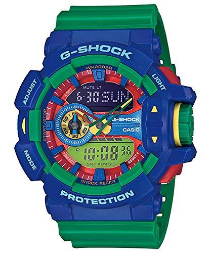 Casio Mens G SHOCK ROTARY SERIES Analog-Digital Sport Quartz Watch (Asia Model) GA-400-2A