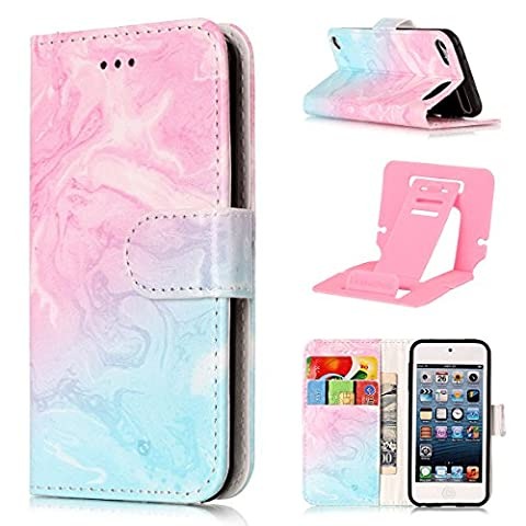ipod Touch 5 Coque Mode,Coque Cuir Etui Pour ipod Touch