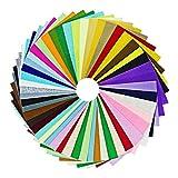 Ciaoed Multicolore Filz Stoff DIY Handgefertigt Polyester 20 * 30cm Bastelfilz 42 Farben