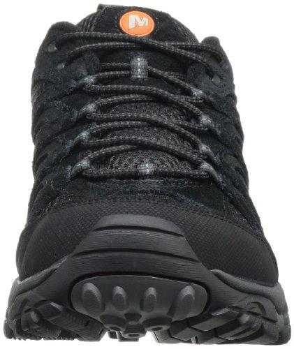 Merrell - Moab Vent, scarpe da ginnastica a collo alto  da uomo Black Night