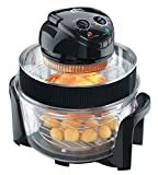 VisiCook Halogen Oven 2015 with Sleeved Extender Ring and Cool Surround Encasement Bowl, 12.0 Litre, 1400 W - Black