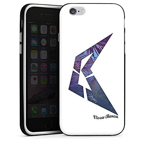 Apple iPhone X Silikon Hülle Case Schutzhülle Visca Barca Fanartikel Merchandise Visca98Barca Youtuber Silikon Case schwarz / weiß