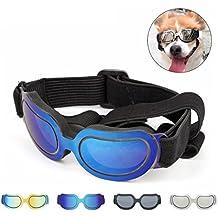 PETCUTE Gafas de Sol de Moda para Mascotas Gafas de Sol Protectoras Ligeras y Resistentes al