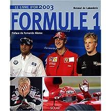 Livre d'or de la formule 1 2003