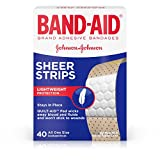 Best Band-Aid Bandages - Band-Aid Adhesive Bandages, Sheer, All One Size 40 Review