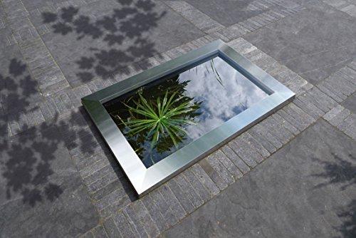 Ubbink Quadrat C3 Edelstahl Rahmen von Teich