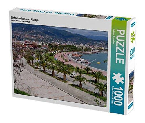 Preisvergleich Produktbild Hafenbecken von Alanya 1000 Teile Puzzle quer (CALVENDO Natur)