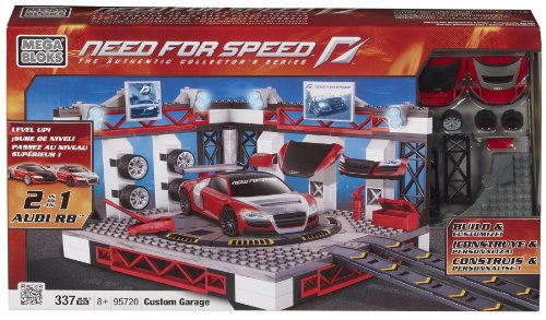 Preisvergleich Produktbild Mega Bloks 95720 - Need for Speed Dream Garage (Audi R8, NFS Custom R8)
