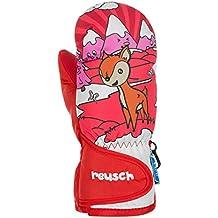 Reusch Niños Snowy R-Tex XT Manoplas guantes, Otoño-invierno, infantil, color virtual pink, tamaño II