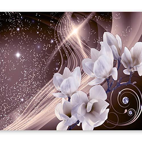 murando Papier peint intissé 400x280 cm Décoration Murale XXL Poster Tableaux Muraux Tapisserie Photo Trompe l'oeil fleurs b-A-0237-a-c