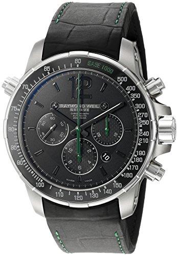Reloj Automático Raymond Weil Nabucco, Negro, Titanio, Cerámica, Cronógrafo