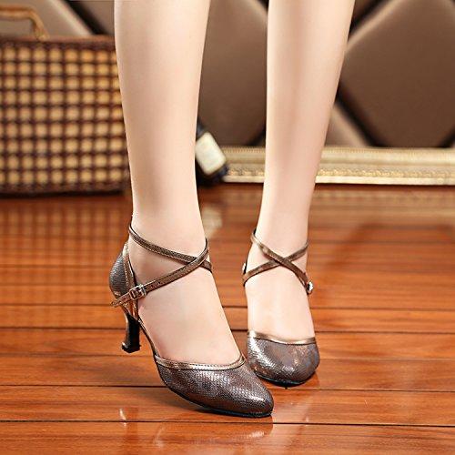 Miyoopark - Ballroom donna Bronze-7.5cm Heel