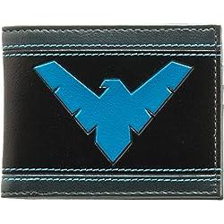 DC Comics Batman Nightwing logotipo Bifold Billetera
