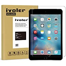 iPad Mini 4 Protector de Pantalla Cristal, iVoler® Film Protector de Pantalla de Vidrio Templado Tempered Glass Screen Protector para Apple iPad Mini 4 7.9''- Dureza de Grado 9H, Espesor 0,30 mm, 2.5D Round Edge-[Ultra-trasparente] [Anti-golpe] [Ajuste Perfecto] [No hay Burbujas]- Garantía Incondicional de 18 Meses