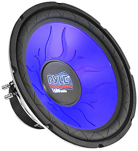 Pyle pl1090bl 25,4cm 1000W DVC Subwoofer -