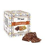 FRHOME - 250 gr Cuadrados de Crocante Siciliano con Chocolate - Duci Duci