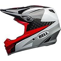 Bell Full-9 MTB Full Face Helmet - White L 57-59Cm, White/Black/Hibiscus