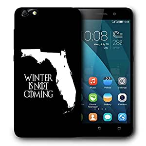 Snoogg Winter Is Not Coming Designer Protective Back Case Cover For HUAWEI 4X