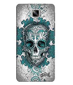 Citydreamz Skull/Skeleton/Horror/Dark/Fear/Scary/Ghost/Monster Hard Polycarbonate Designer Back Case Cover For OnePlus 3
