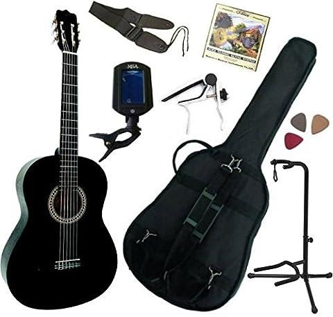 Guitares Classiques - Pack Guitare Classique 4/4 (Adulte) Avec 7